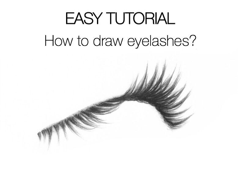 Easy Tutorial How To Draw Eyelashes Silvie Mahdal The Art Of